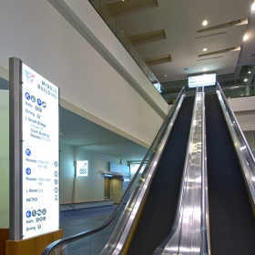 Interior Sign Photo of Washington Convention Center