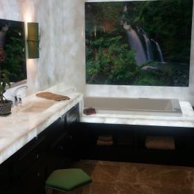 Master Bath in Maui